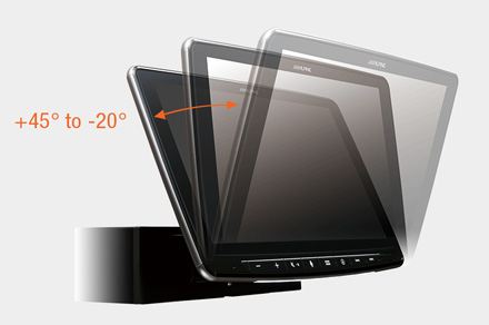 INE-F904DC - Adjustable Display Angle