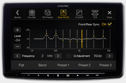 iLX-F903D - High-end Sound Tuning Options