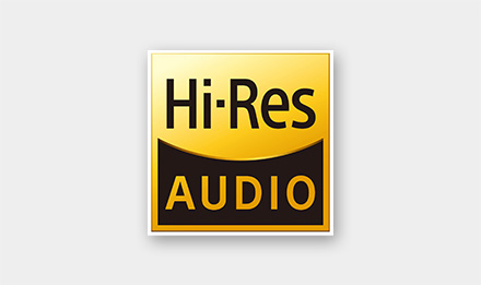 Hi-Res Audio Compliant