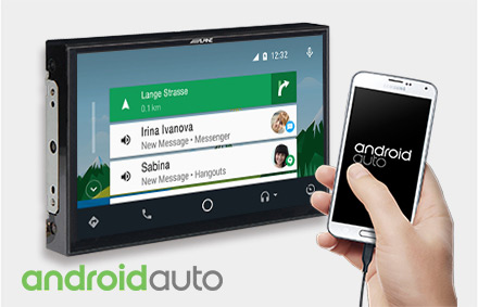 Works with Android Auto - X902D-EX