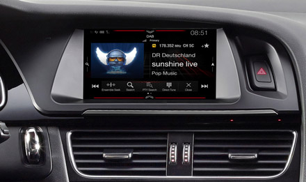 Audi A5 - DAB Digital Radio - X702D-A5