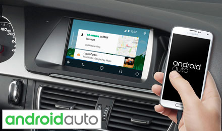 Audi A5 - Works with Android Auto - X702D-A5