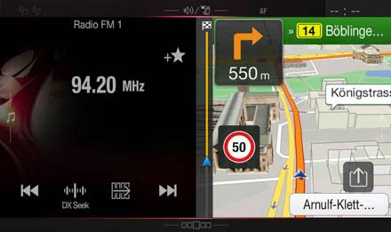 Audi Q5 Navigation System - X701D-Q5: One Look Display