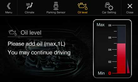 Audi Q5 - X701D-Q5: Warning Messages - Vehicle Settings