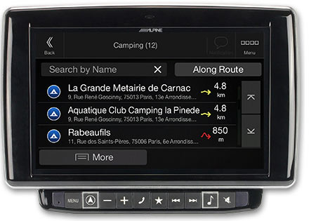 Ducato, Jumper and Boxer - Navigation - Importable camper POI databases - X901D-DU