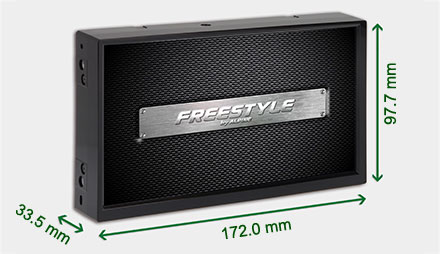 Freestyle solution for custom installs - Navigation System X701D-F