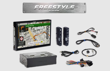 All parts included - Freestyle Navigation System X903D-F