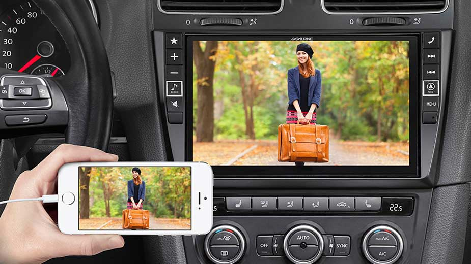 Golf 6 - Big Screen Entertainment - X901D-G6